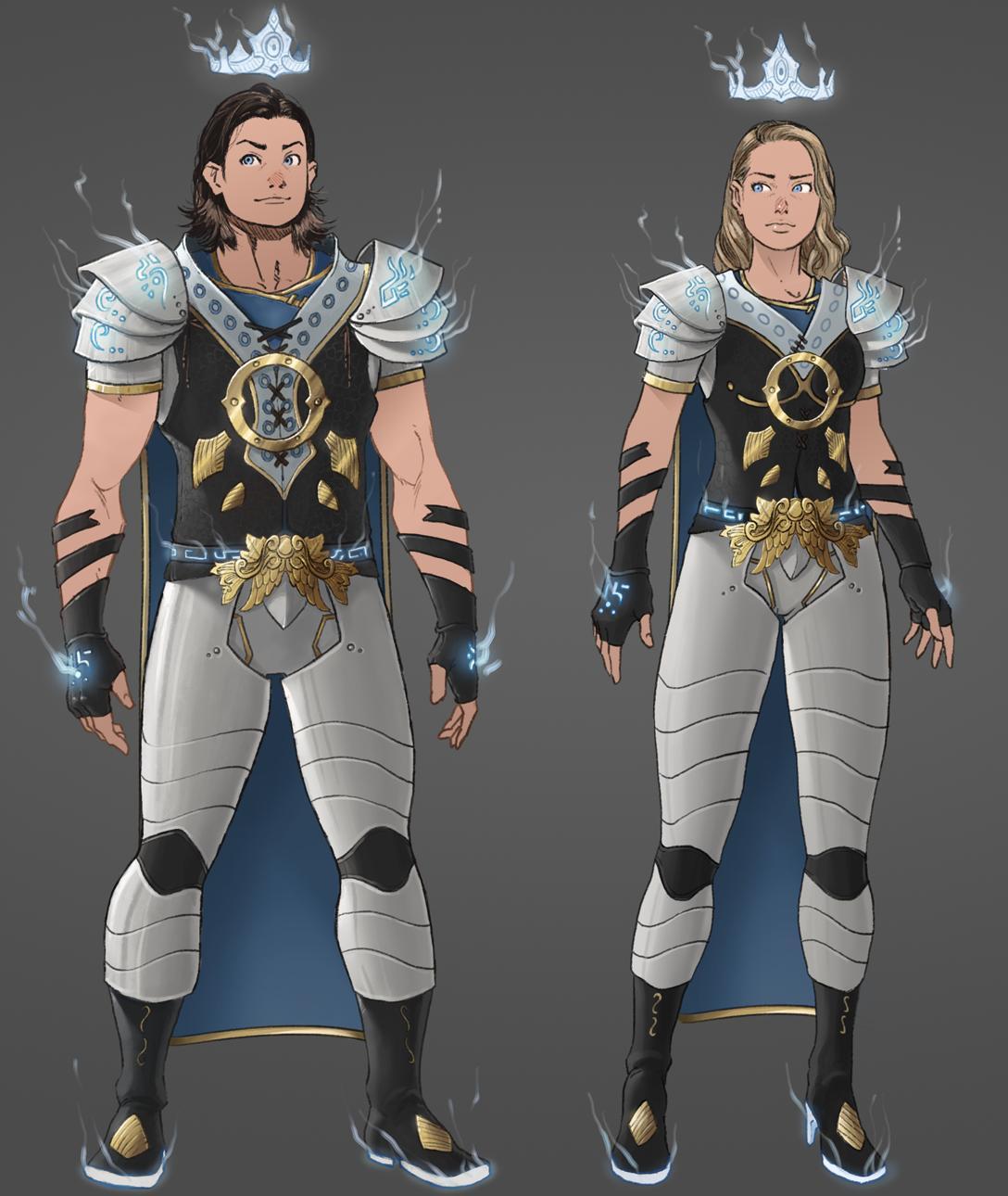 Oath MMORPG kickstarter character art 3