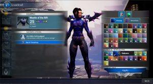 Dauntless dye system rework
