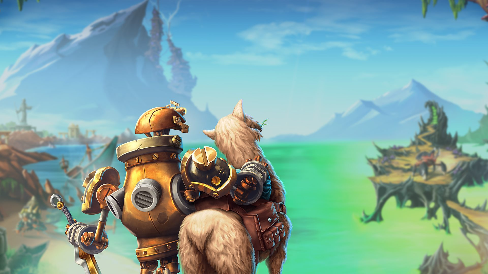 Torchlight Frontiers alpha invite Forged Llama wallpaper