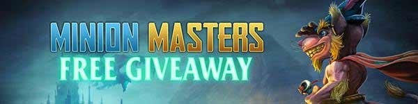 Minion Masters Free Gift Pack Giveaway
