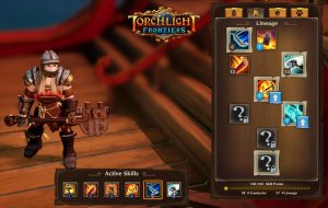 Torchlight Frontiers skill system update