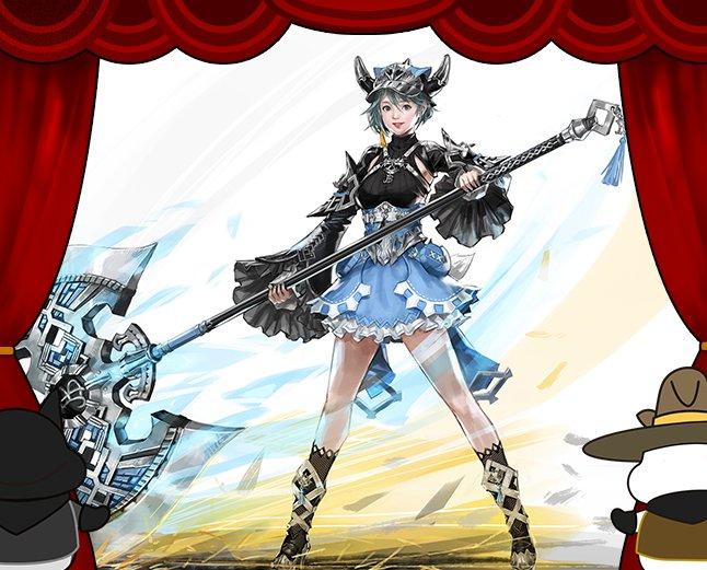 Mabinogi Heroes 15th playable character girl