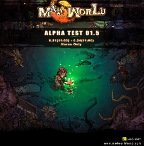 Mad World Korean alpha test