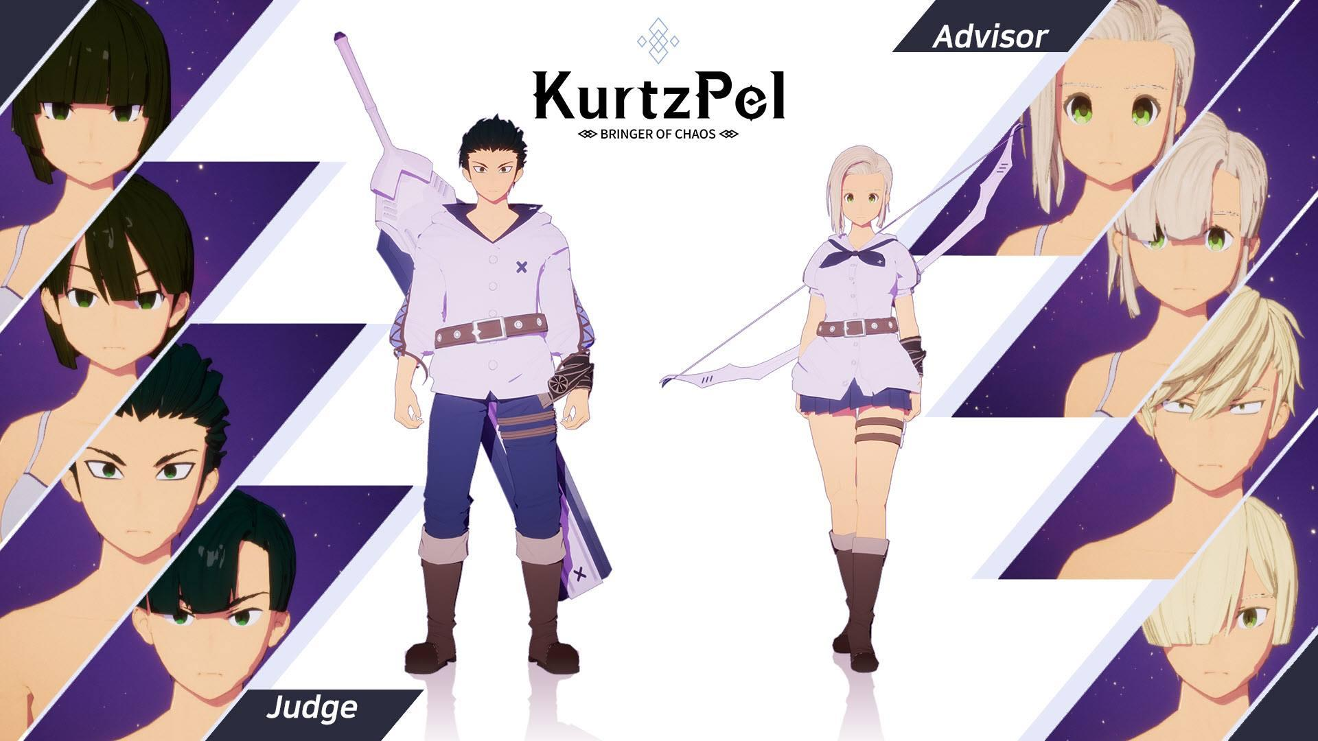 Character customization options KurtzPel 1