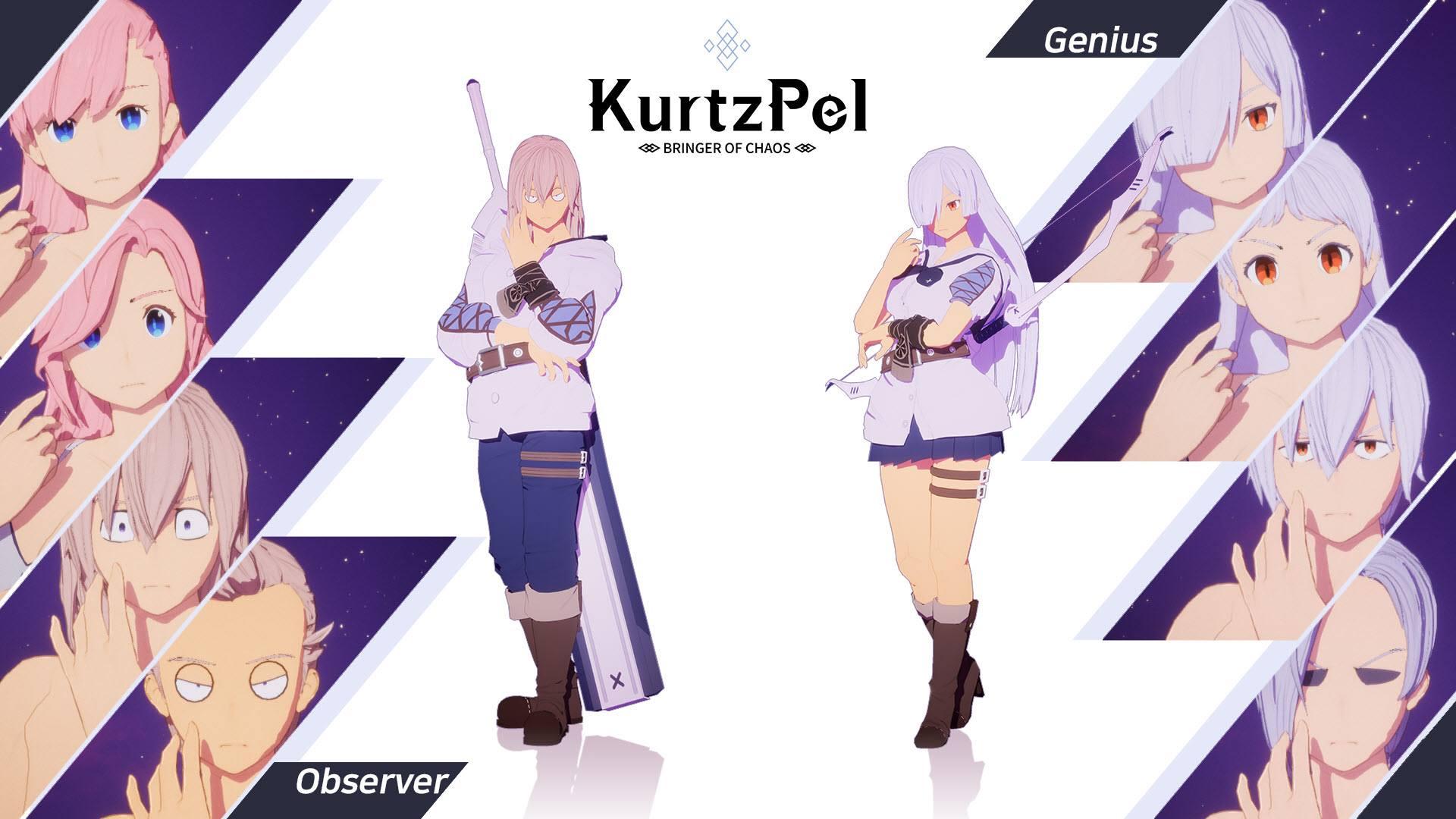 Character customization options KurtzPel 2