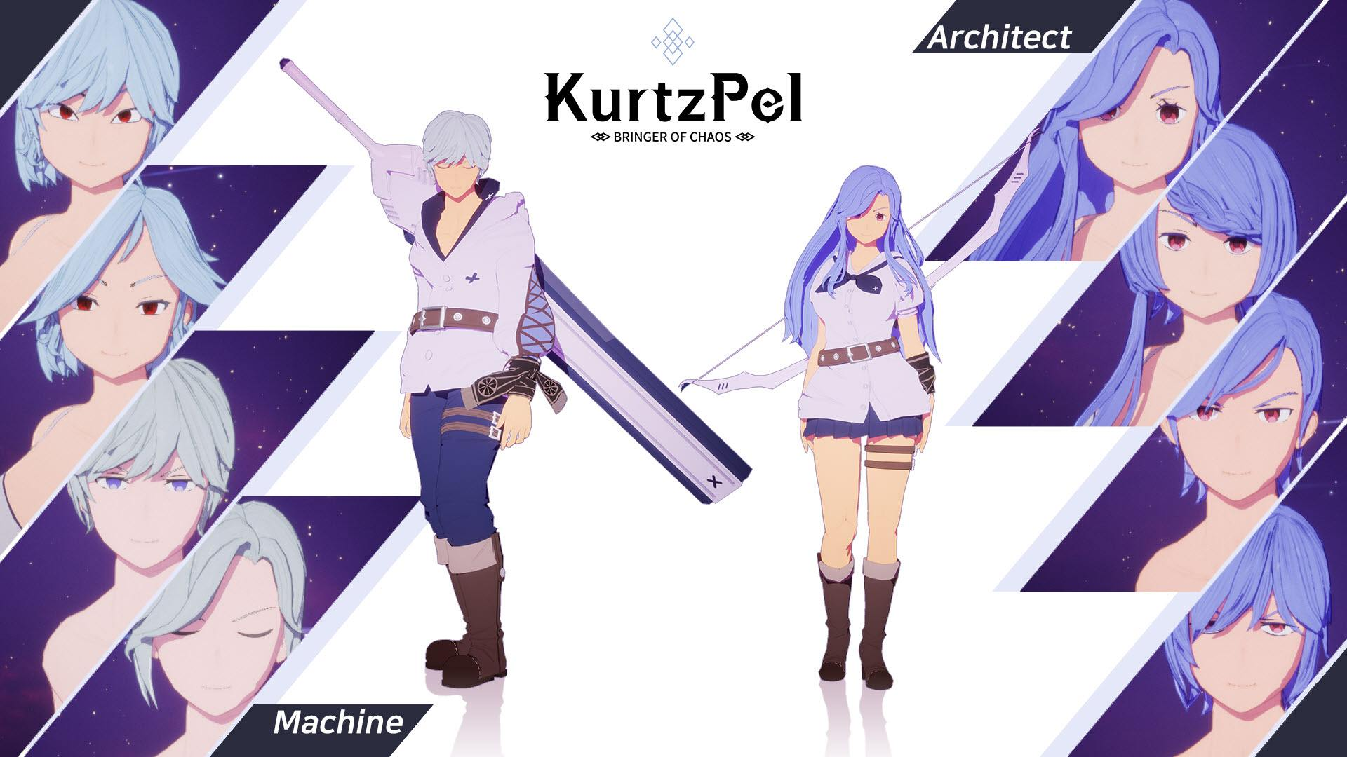 Character customization options KurtzPel 3