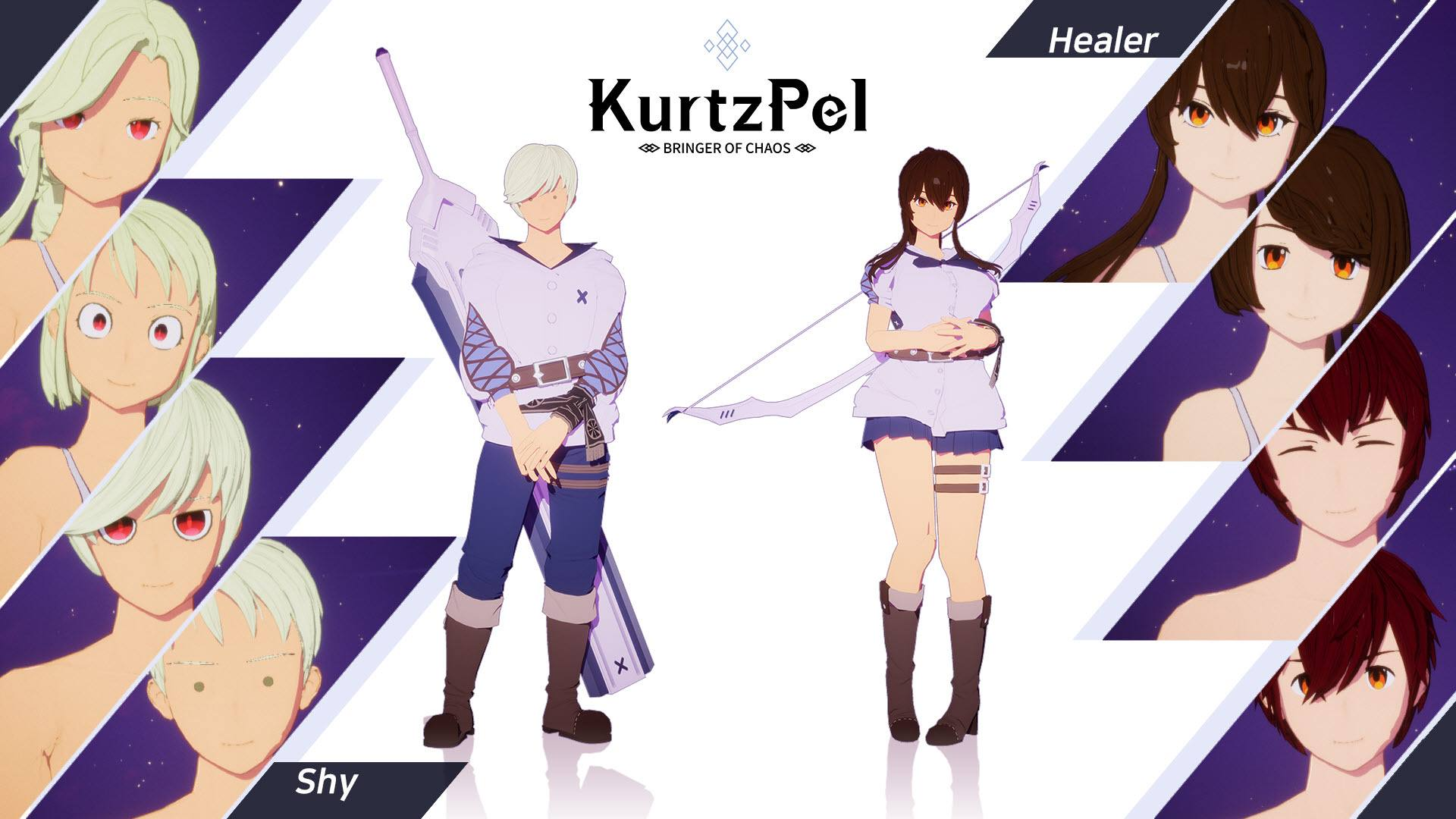 Character customization options KurtzPel 4