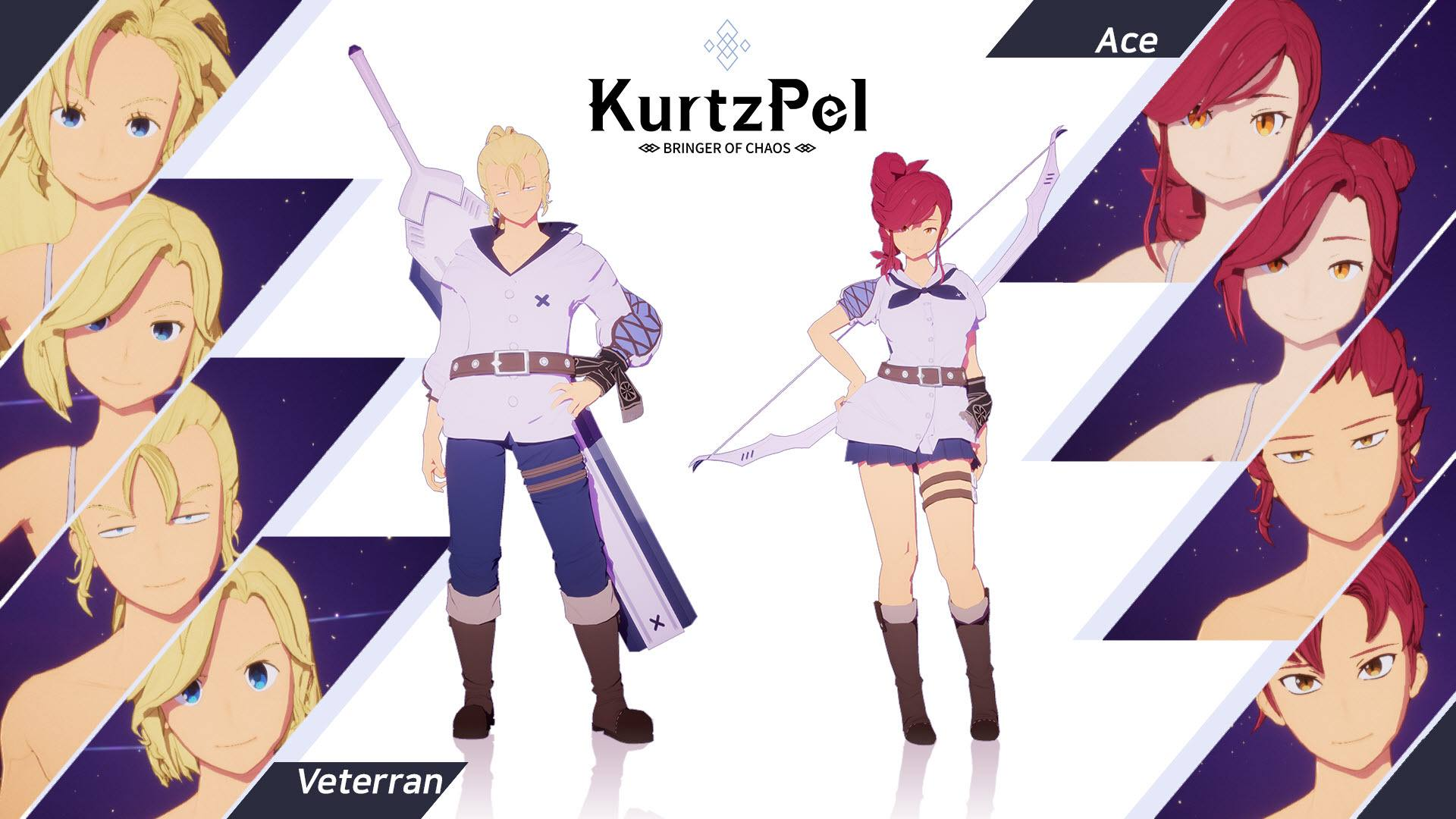 Character customization options KurtzPel 5
