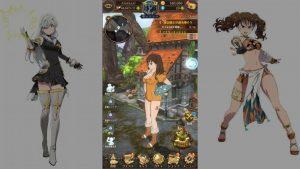 The Seven Deadly Sins Grand Cross Anime RPG Town Free Roam