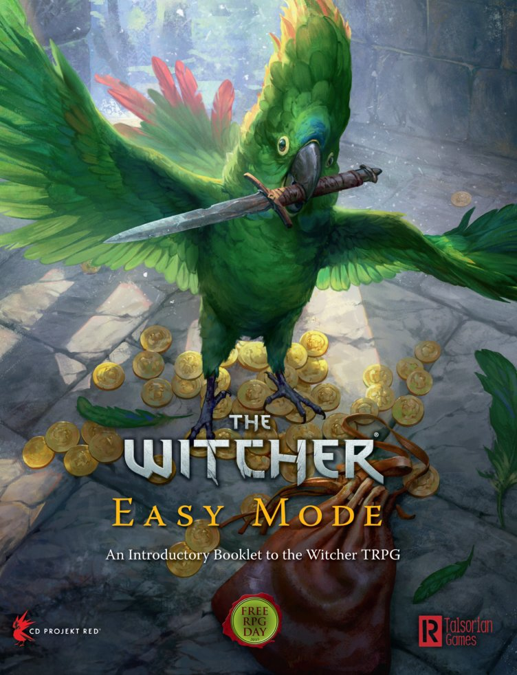 Witcher Easy Mode RPG