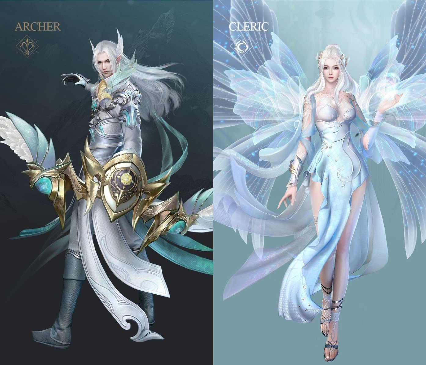 Perfect World Mobile character classes Winged Elves