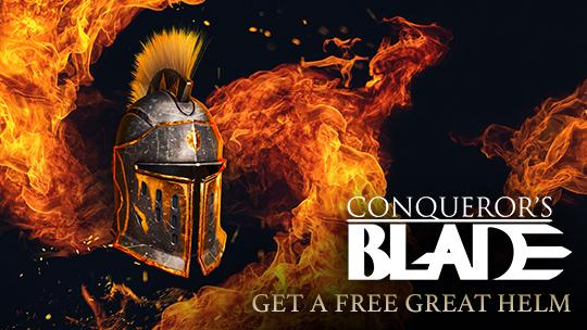 Conqueror's Blade Free Crested Great Helm