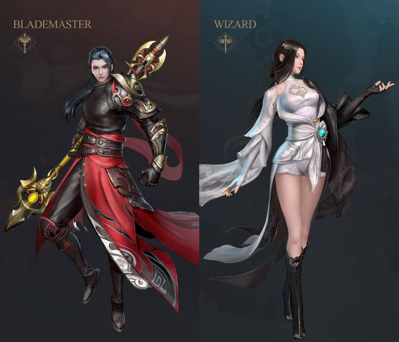 Perfect World Mobile character classes