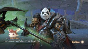 Perfect World Mobile Untamed Barbarian Panda