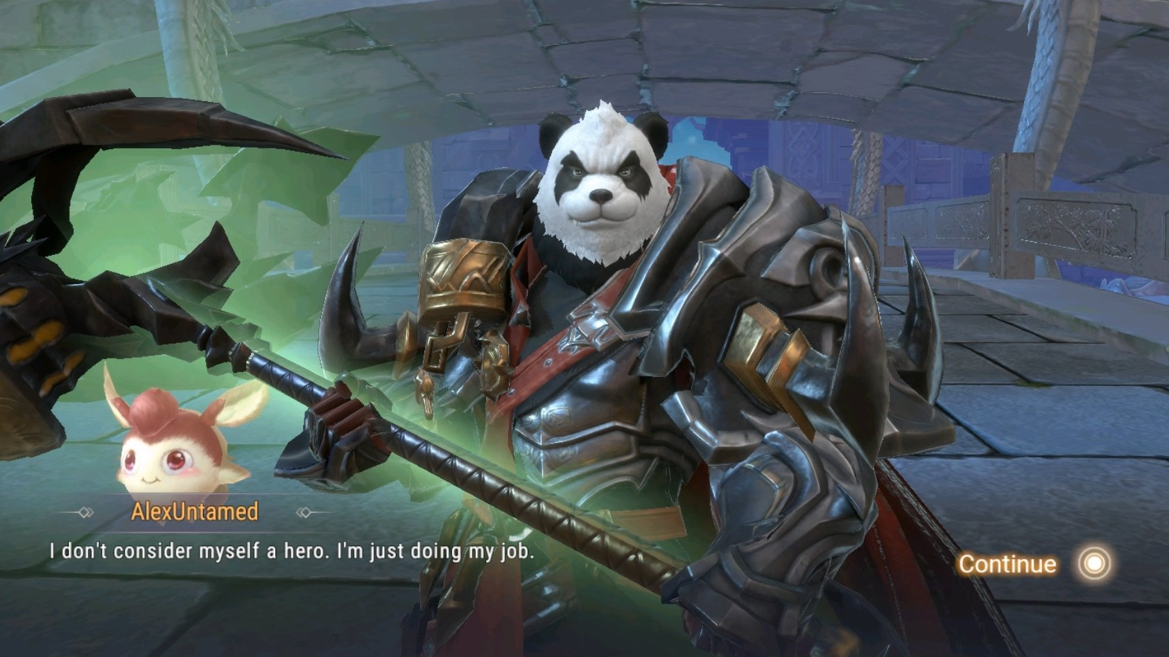 Perfect World Mobile Untamed Barbarian Panda