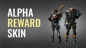 The Cycle alpha reward skin