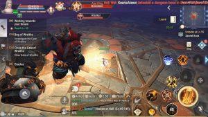 Perfect World Mobile Impressions Heavenfall Tower Battle