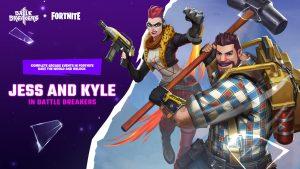 Battle Breakers Fortnite Skin Jess Kyle