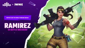 Battle Breakers Fortnite Skin Ramirez