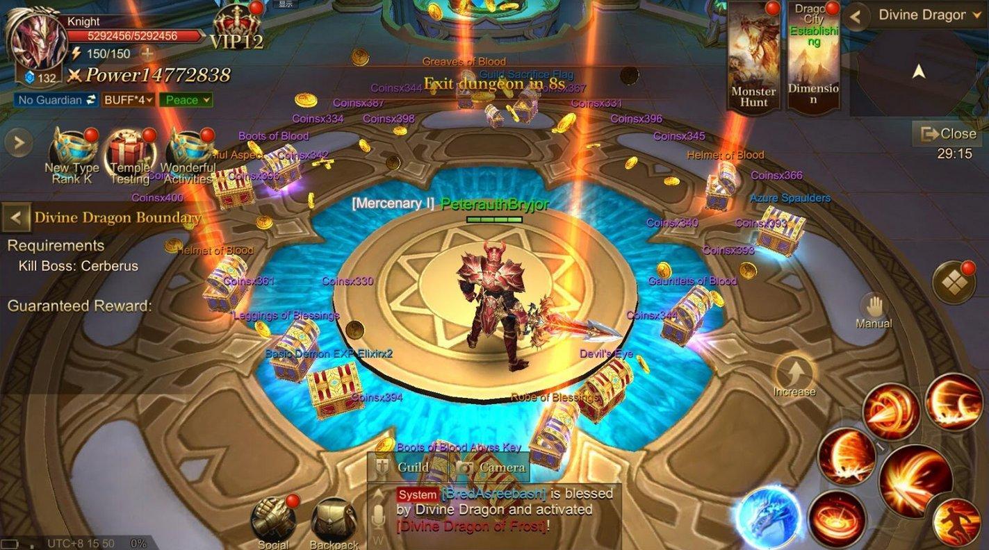 Dragon Storm Fantasy loot