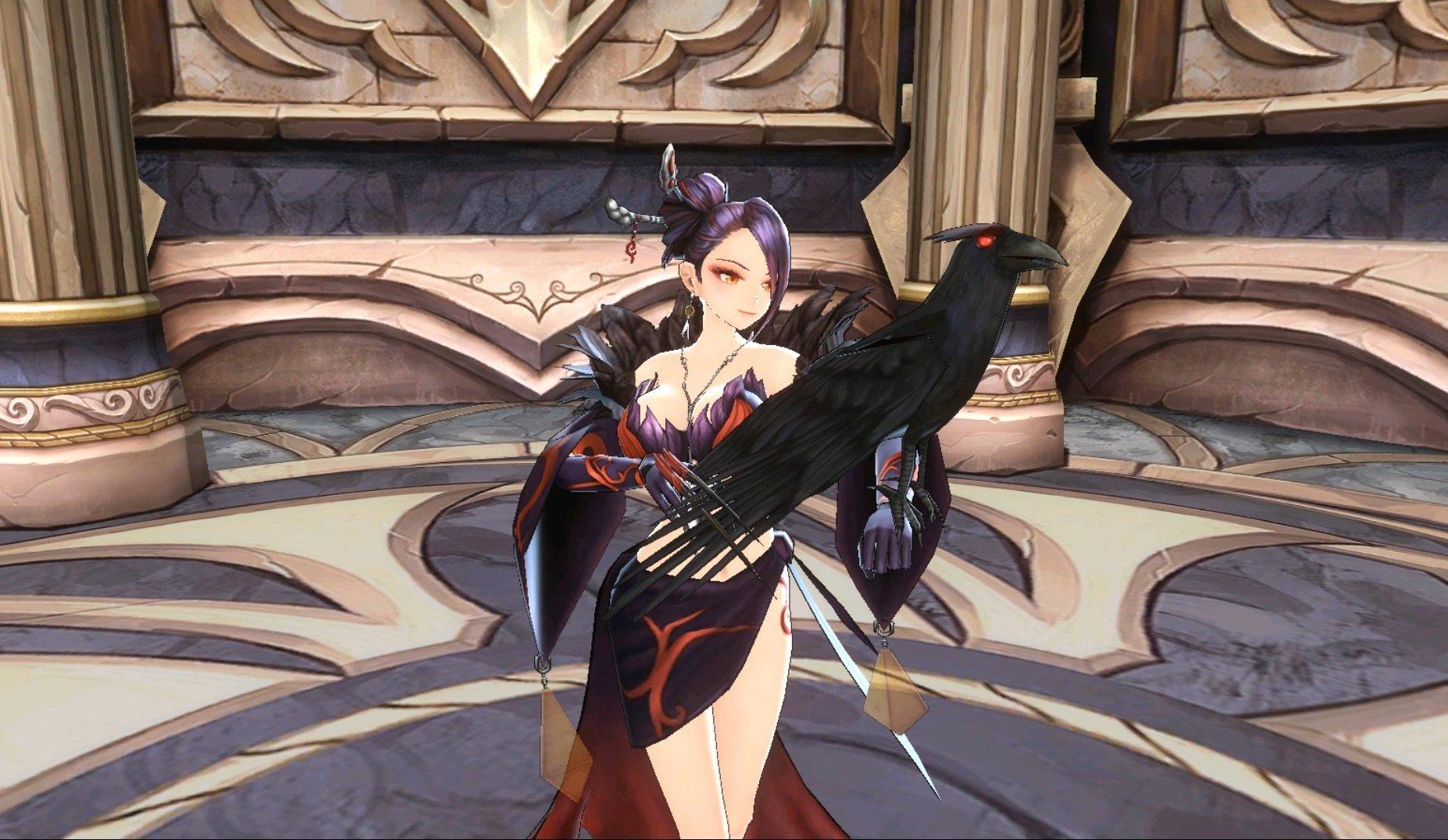 King's Raid Cutscenes Fallen Witch Maria