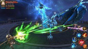 dragon storm fantasy boss battle