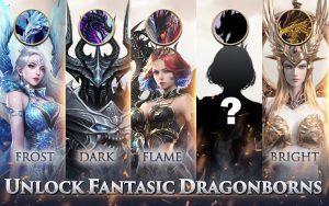 Dragon Storm Fantasy Dragonborns