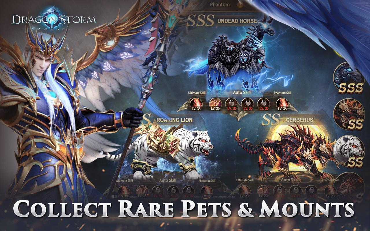 Dragon Storm Fantasy Pets and Mounts
