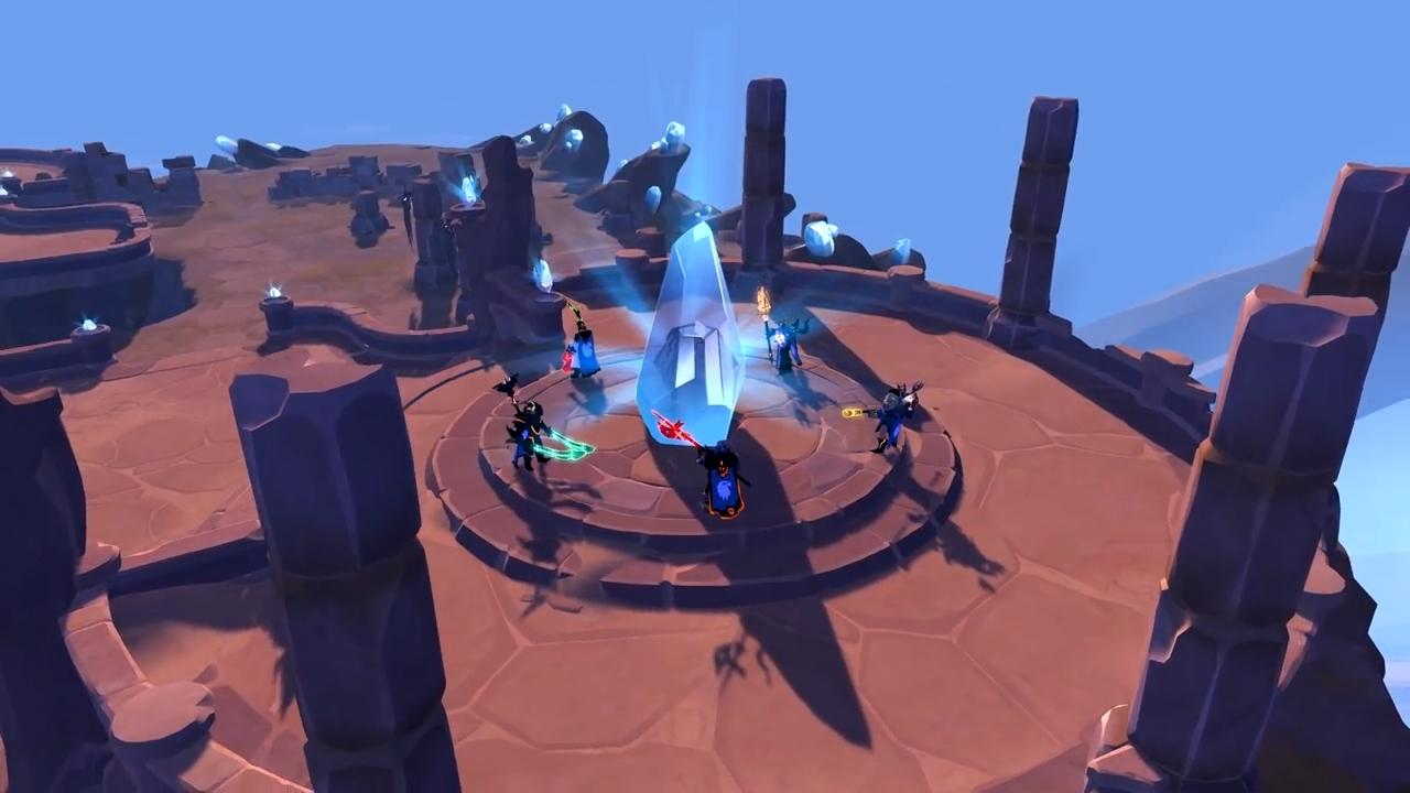 Albion Online Queen Update Crystal Realm 5v5