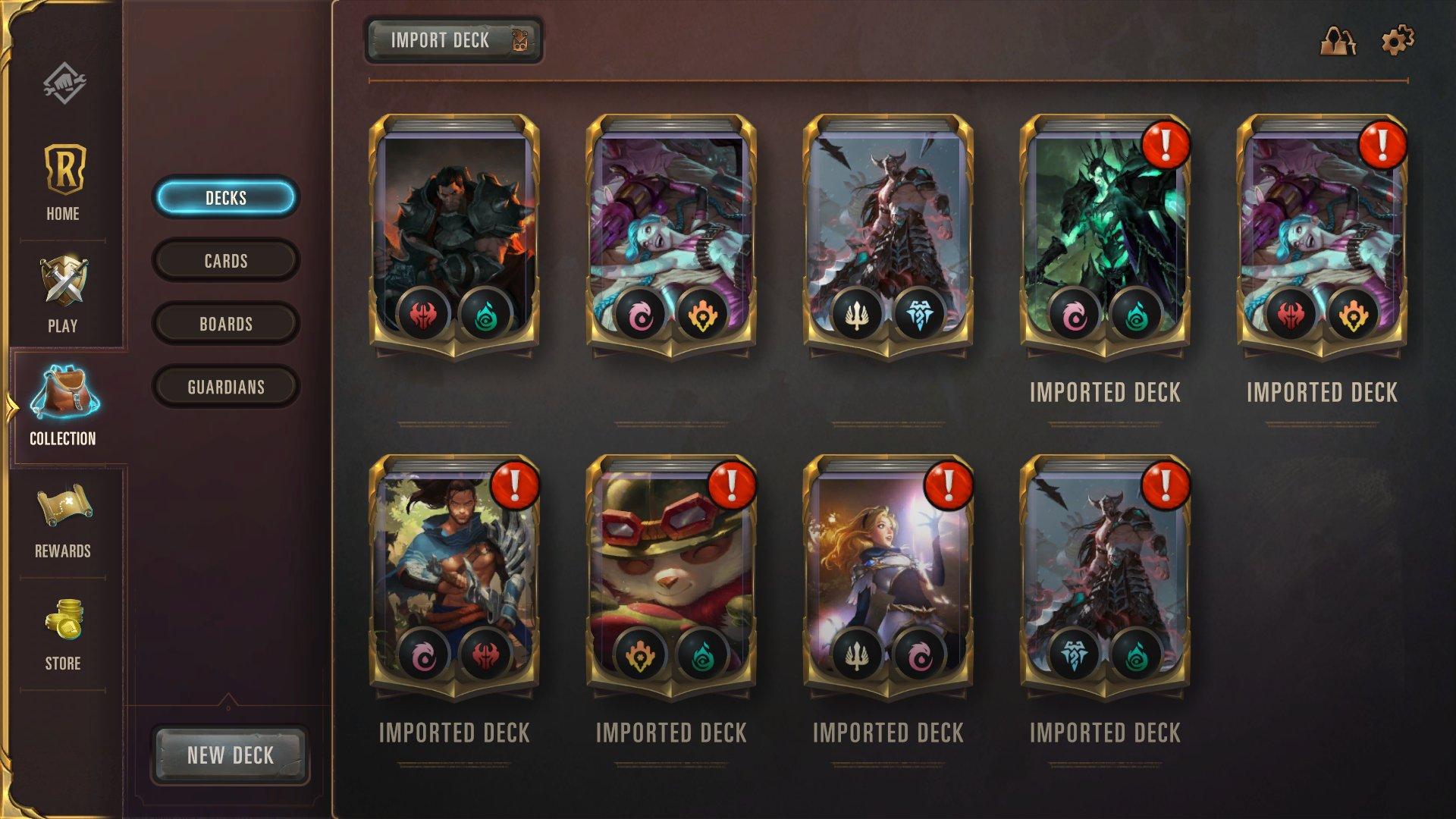 Best Legends of Runeterra Deck Codes