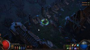 Path of Exile 2 gameplay graveyard