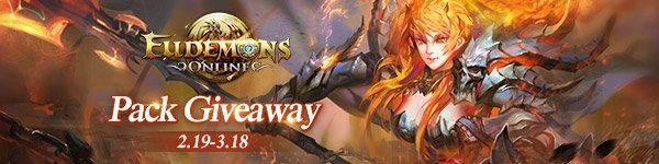 Eudemons Online Free Lucky Media Pack Giveaway