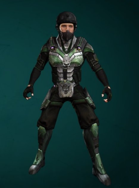 Defiance 2050 Free Urban Commando