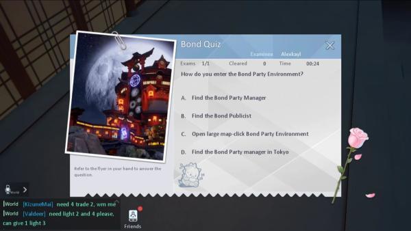 Dragon Raja Bond Quiz Guide