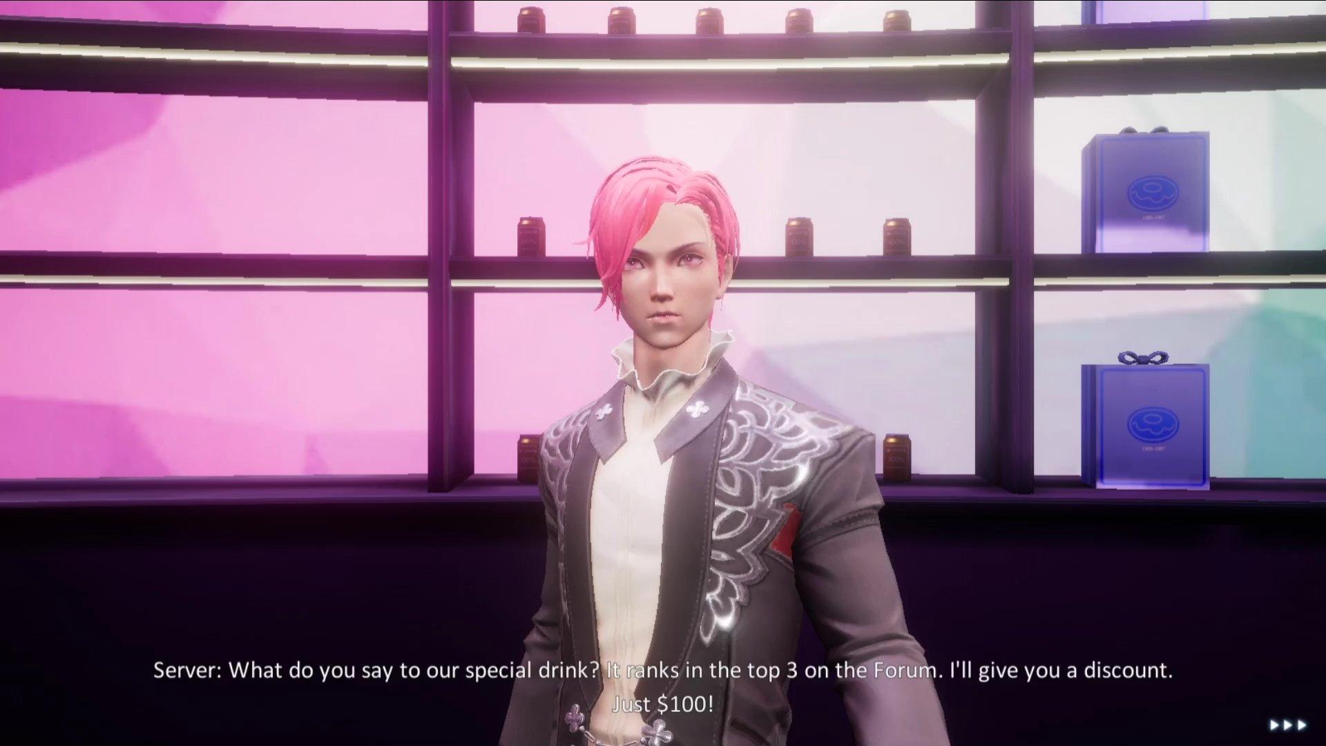 Dragon Raja Supernatural Tale Guide Waiter Special Drink