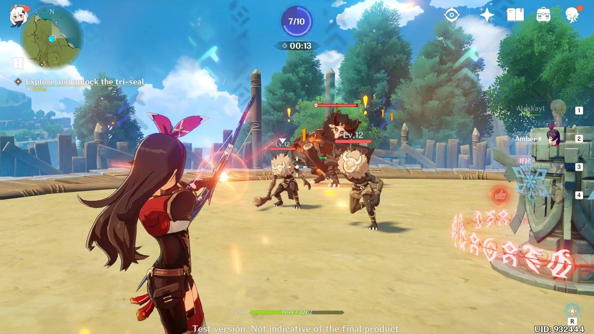 Genshin Impact Beginners Guide Amber Combat