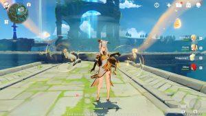 Genshin Impact gameplay first look ningguang