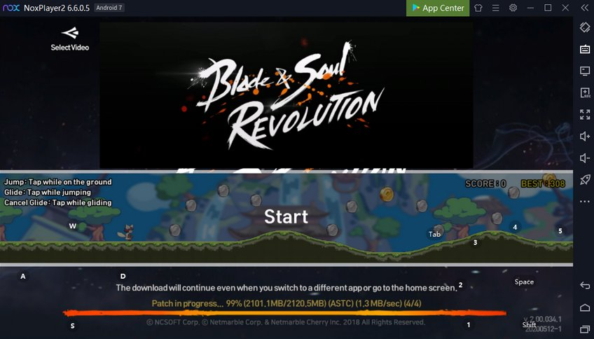 Blade and Soul Revolution on PC NoxPlayer advantages
