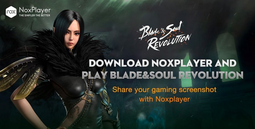 Blade and Soul Revolution NoxPlayer