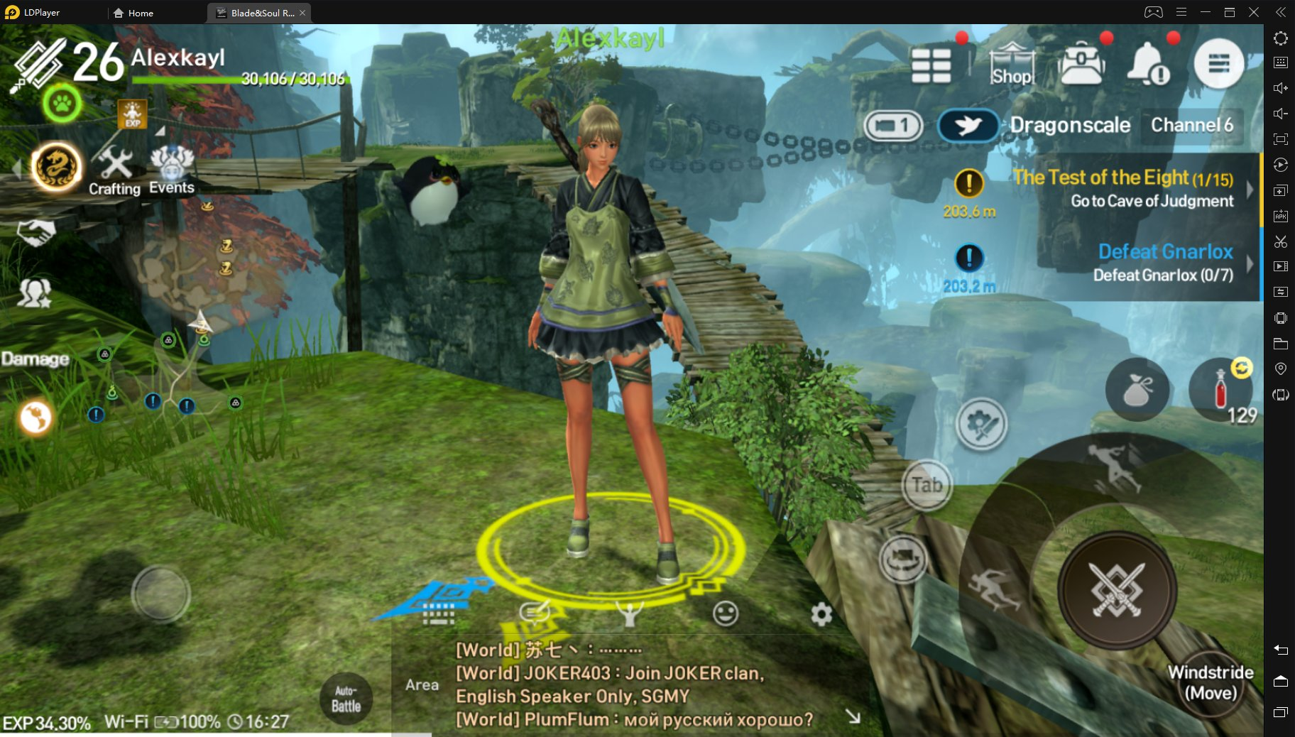How to Play Blade&Soul Revolution Asia