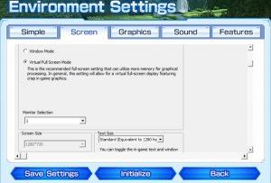 Phantasy Star Online 2 Full Screen