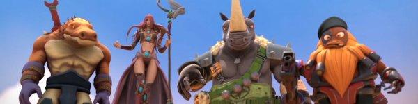 MOBA Clash: Mutants vs Pirates