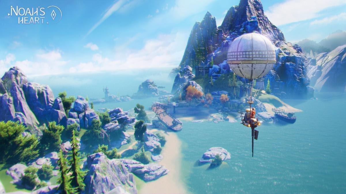 MMORPG Noah's Heart open world