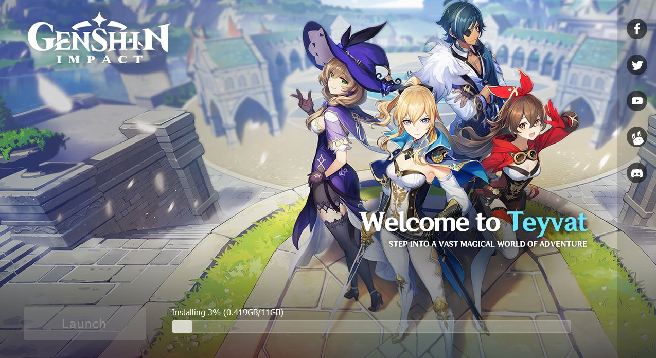 Genshin Impact Download And Install File Size