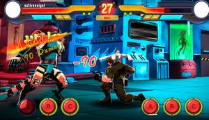 Fighting game HeroVersus
