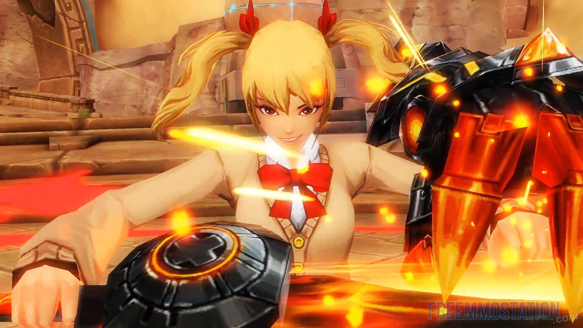 Kritika Reboot Flame Striker Gameplay