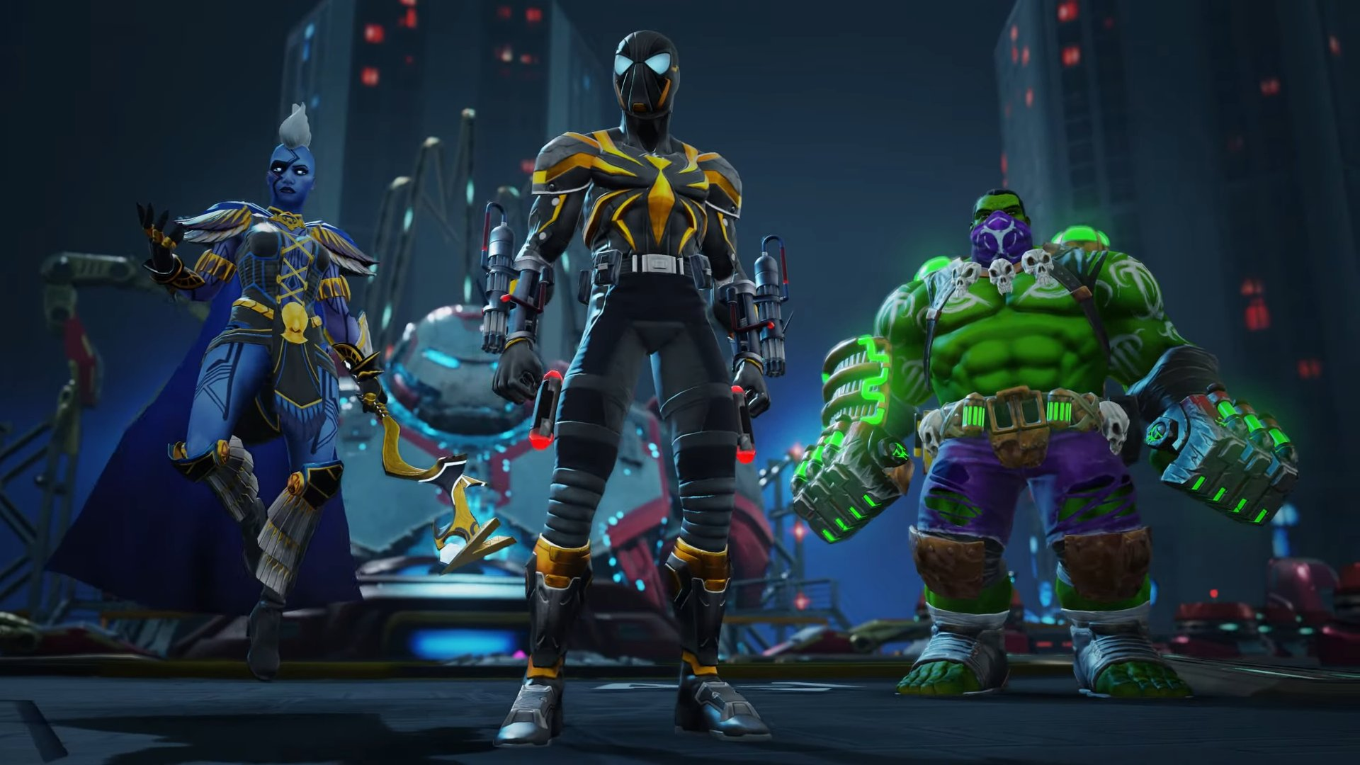 Marvel Realm of Champions gameplay