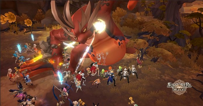 Summoners War Chronicles release date