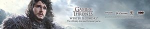 Game of Thrones Winter is Coming Free Gift Pack Giveaway