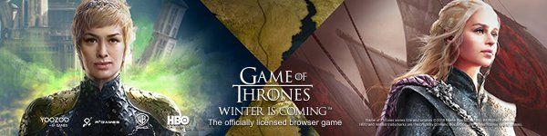 Game of Thrones Winter is Coming Free Gift Pack